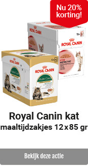 Royal Canin kat pouch 20% korting
