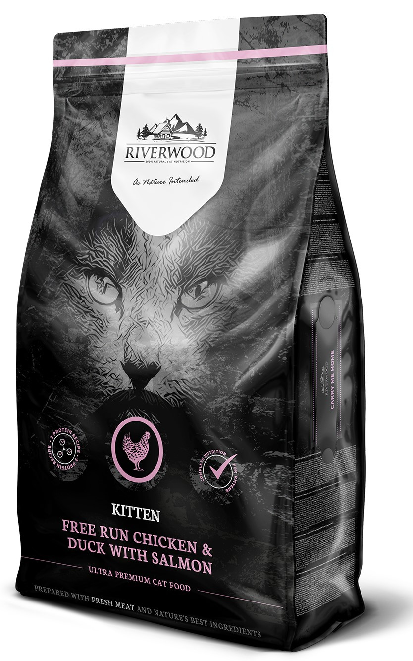 Riverwood kattenvoer Kitten Chicken & Duck <br>6 kg