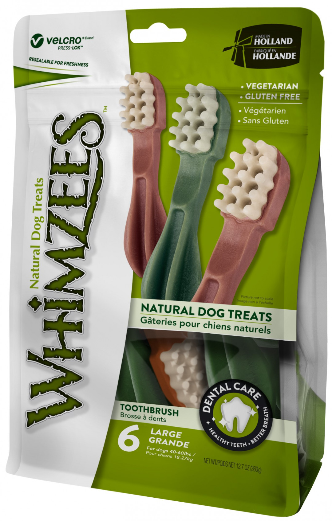 WHIMZEES toothbrush star L 6 st