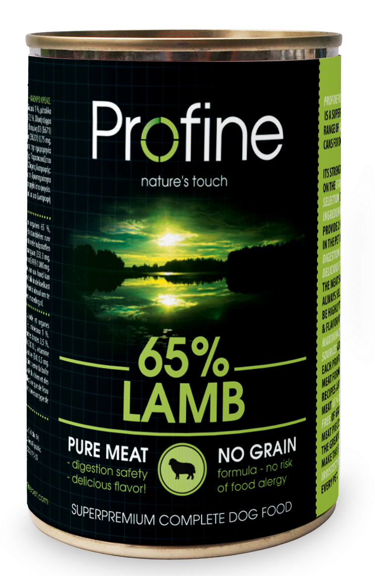 Profine Pure Meat 65% lamb 400 gr