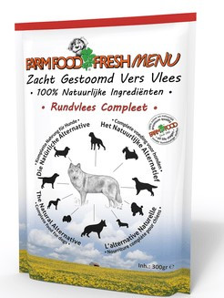 Farm Food Fresh Menu Rundvlees Compleet 300 gr