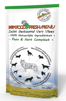 Farm Food Fresh Menu Pens en Hart Compleet 125 gr