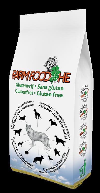 Farm Food hondenvoer HE Glutenvrij 4 kg