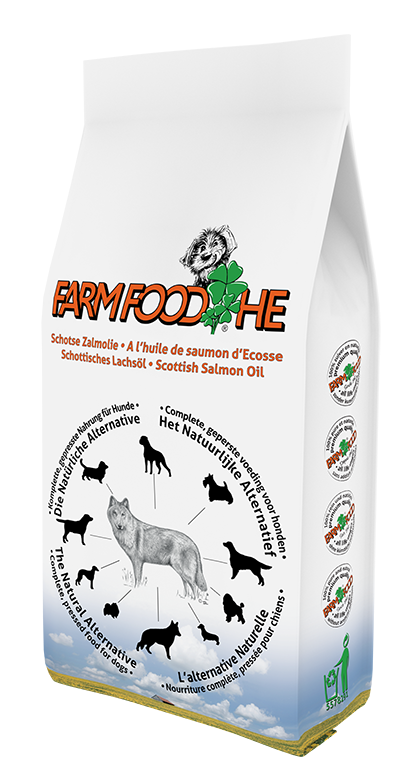 Farm Food hondenvoer HE Zalmolie 4 kg
