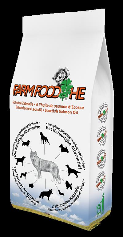 Farm Food hondenvoer HE Zalmolie 2 kg