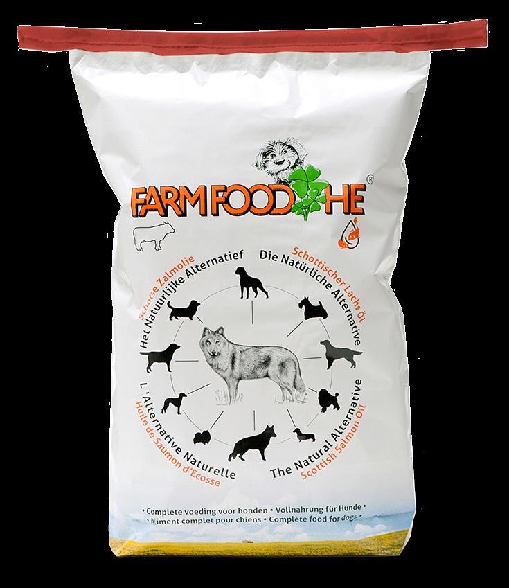 Farm Food hondenvoer HE Zalmolie 15 kg