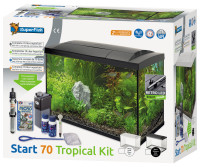 SuperFish aquarium Start 70 Tropical kit zwart thumb