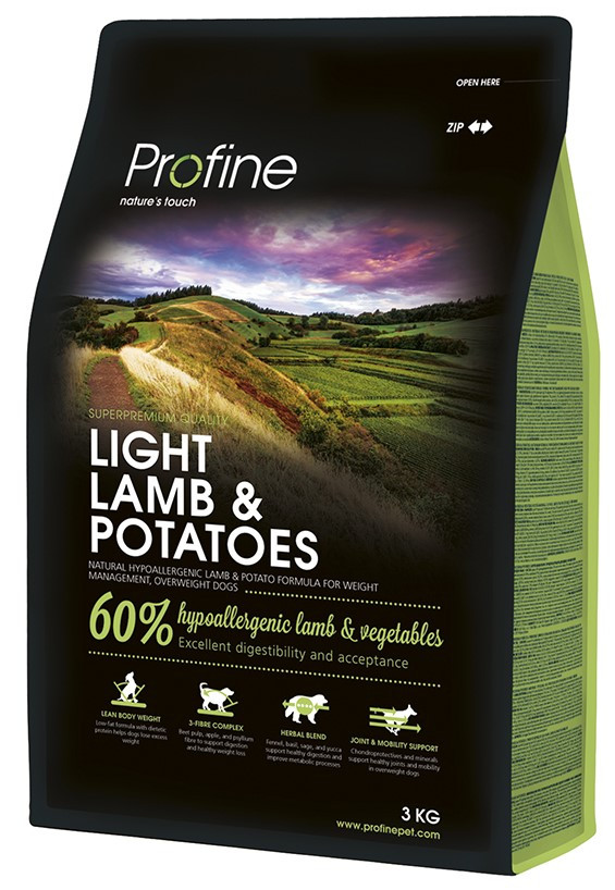 Profine hondenvoer Light Lamb & Potatoes <br>3 kg
