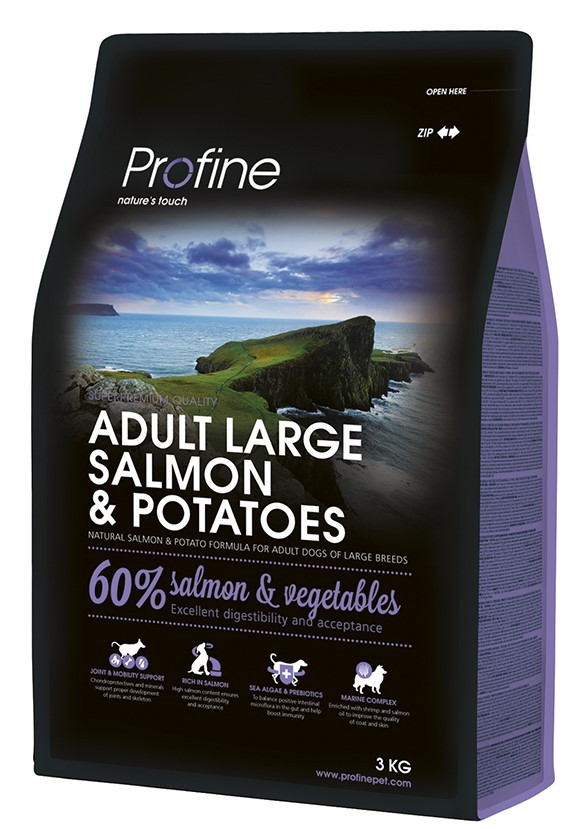 Profine hondenvoer Adult Large Salmon & Potatoes 3 kg