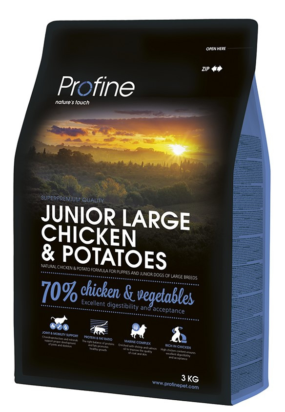 Profine hondenvoer Junior Large Chicken & Potatoes 3 kg