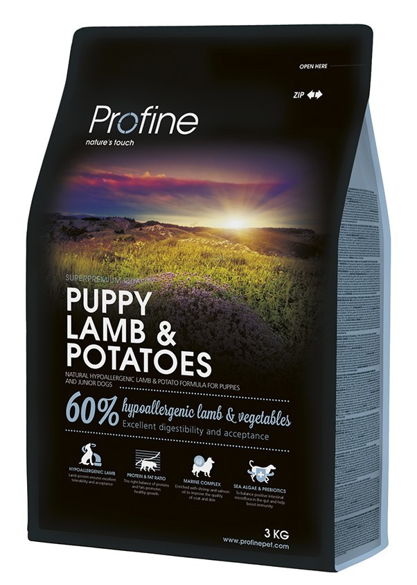 Profine hondenvoer Puppy Lamb & Potatoes 3 kg