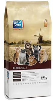 CaroCroc kattenvoer <br>3-Mix 15 kg