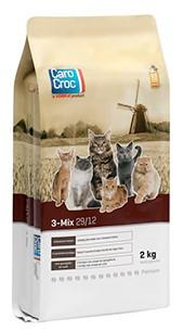 CaroCroc kattenvoer <br>3-Mix 2 kg