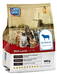CaroCroc kattenvoer with Lamb 400 gr