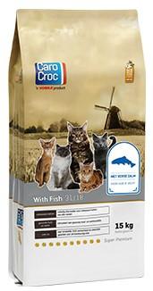 CaroCroc kattenvoer with Fish 15 kg