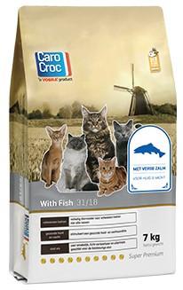 CaroCroc kattenvoer with Fish 7 kg