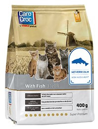 CaroCroc kattenvoer with Fish 400 gr