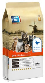 CaroCroc kattenvoer with Chicken 2 kg