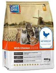 CaroCroc kattenvoer with Chicken 400 gr