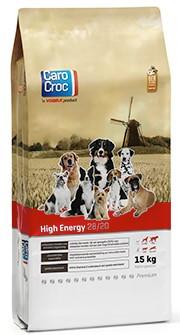 CaroCroc hondenvoer High Energy 15 kg