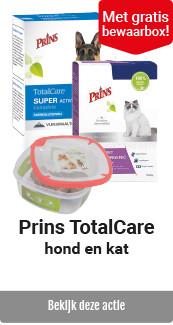Prins hond/kat TotalCare met bewaarbox