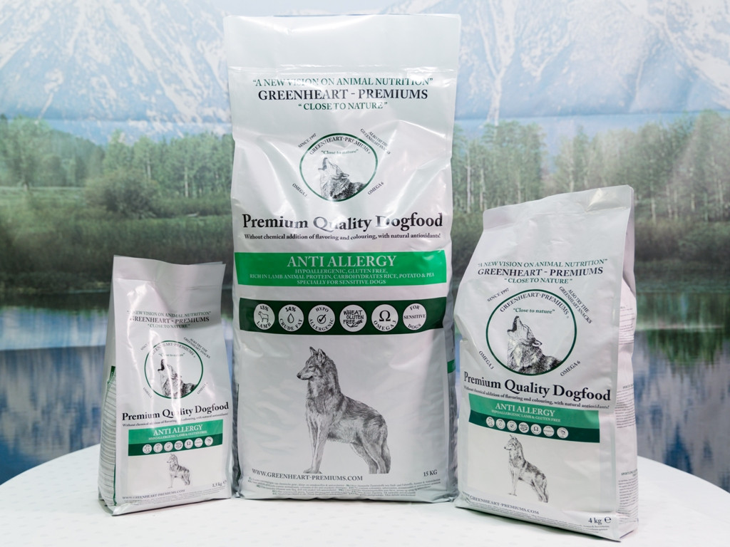 Greenheart-Premiums hondenvoer Anti Allergy 15 kg