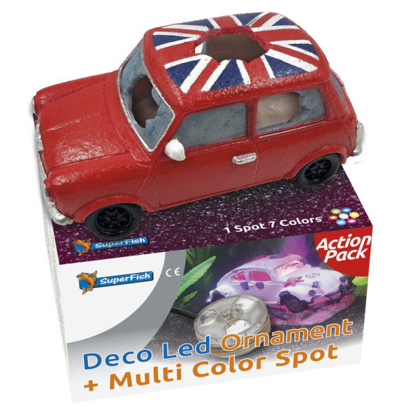SuperFish Mini Cooper & Deco LED kit