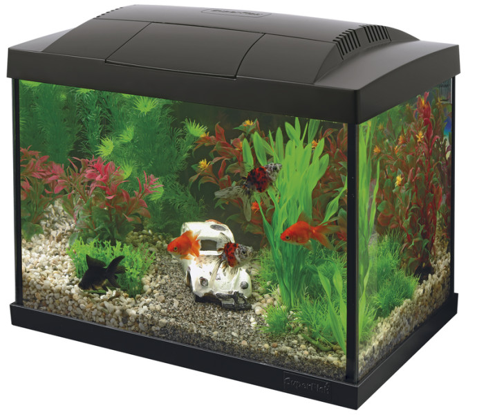 SuperFish aquarium Start 20 Goldfish kit zwart