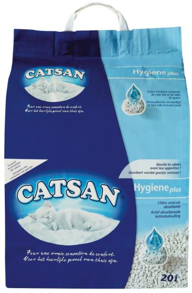 Catsan kattenbakvulling Hygiene Plus 20 ltr