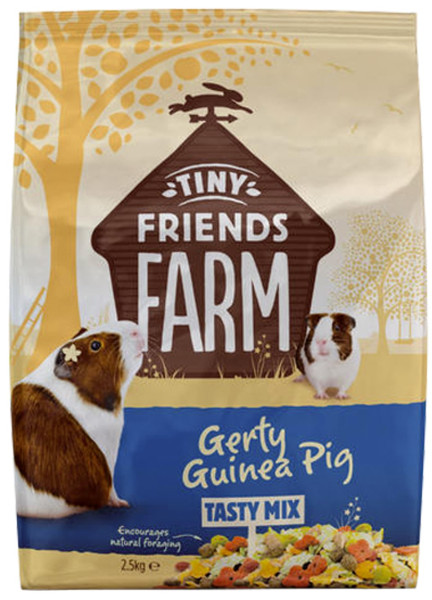 Gerty Guinea Pig Tasty Mix 2,5 kg