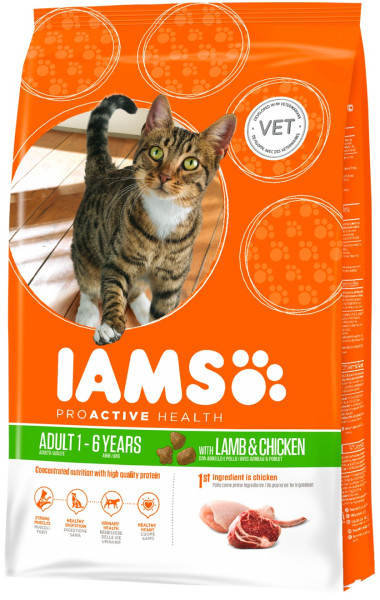 IAMS kattenvoer Adult Lamb 10 kg