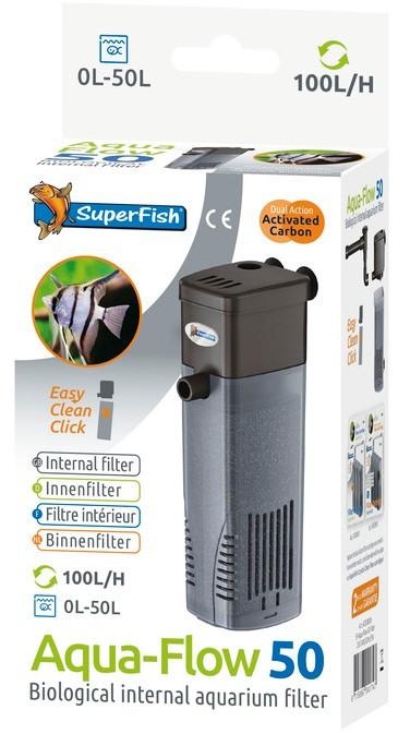SuperFish binnenfilter Aqua-Flow 50