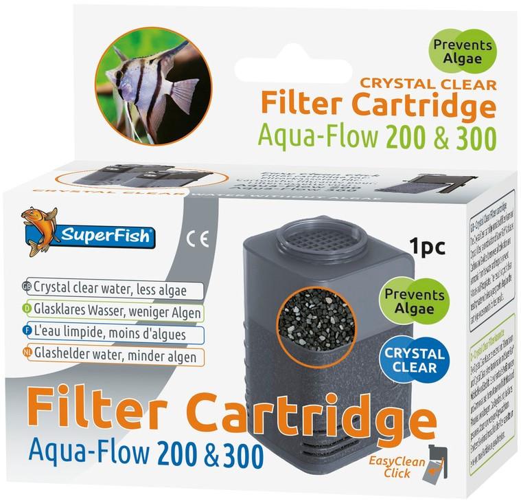 SuperFish Aqua-Flow 200/300 Crystal Clear cartridge 1 st