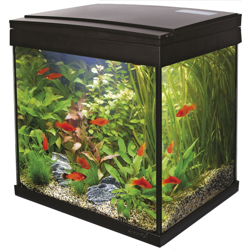 SuperFish aquarium Aqua 30 LED Tropical kit zwart