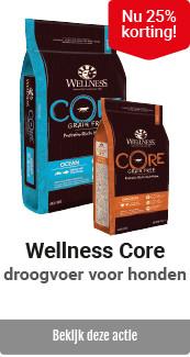 Wellness Core hond voeding 25% korting