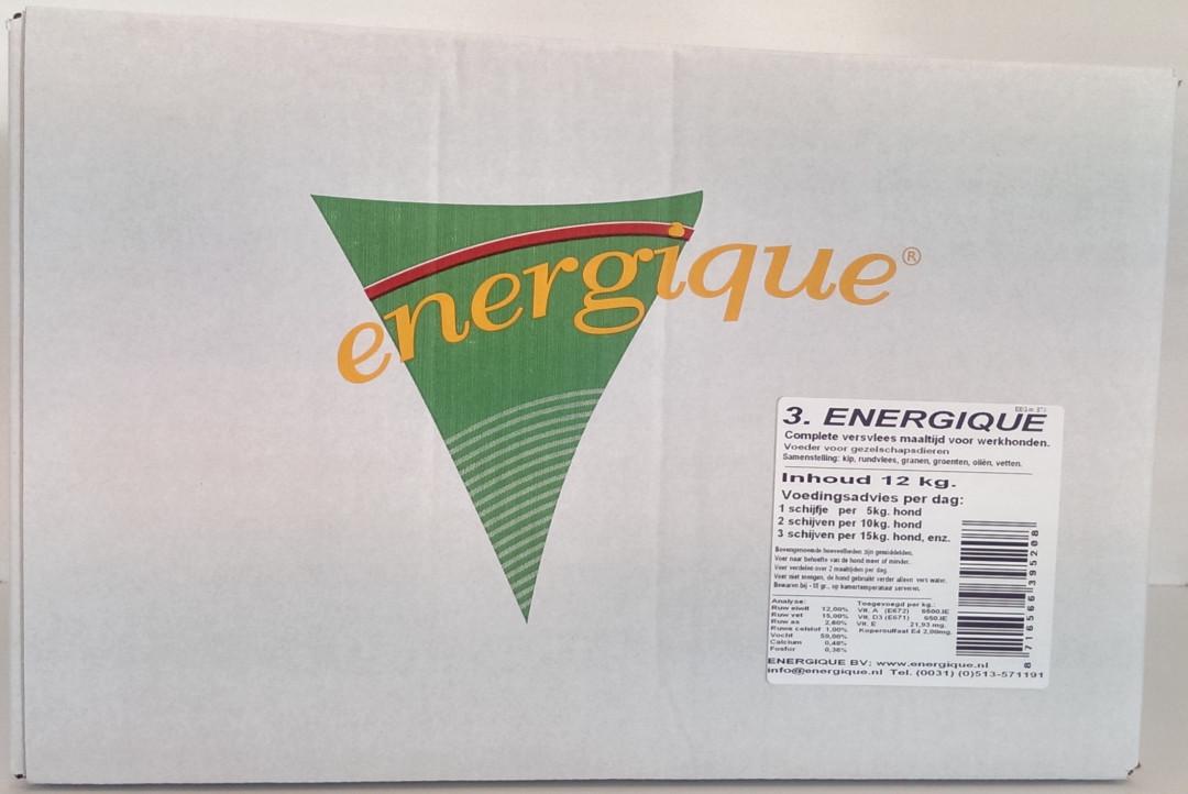 Energique hondenvoer Werkhond 3  - 12 kg