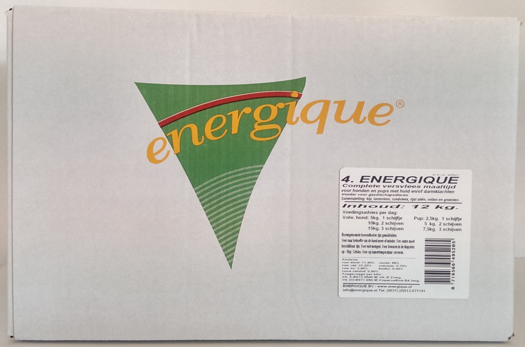 Energique hondenvoer Speciaal 4 - 12 kg