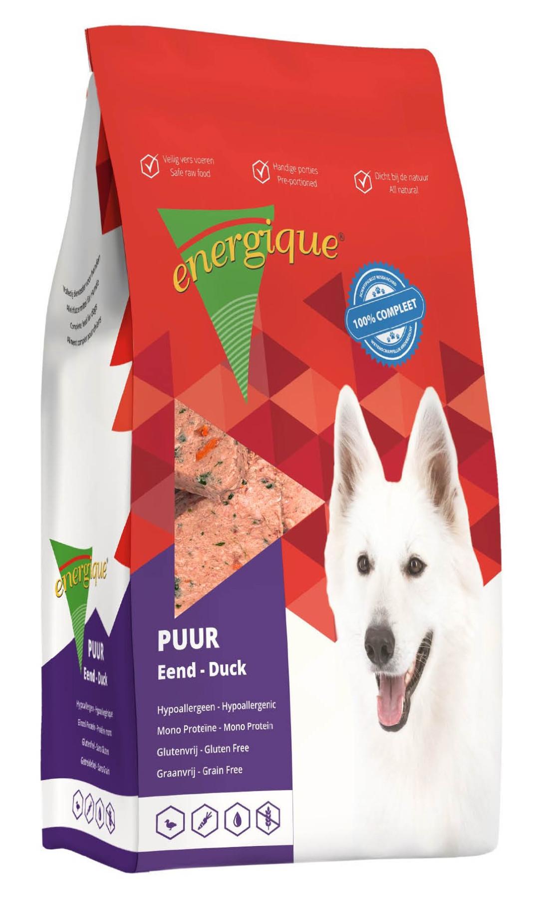 Energique hondenvoer Puur eend graanvrij <br>3 kg
