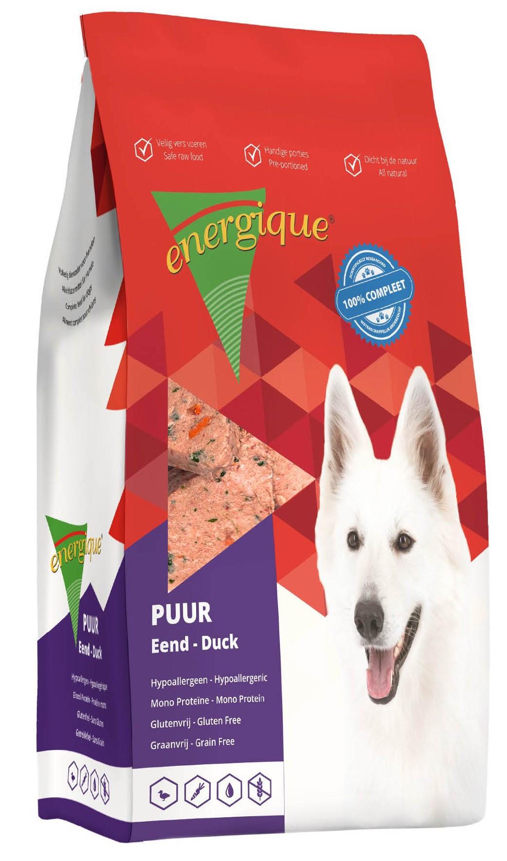 Energique hondenvoer Puur eend graanvrij <br>12 kg