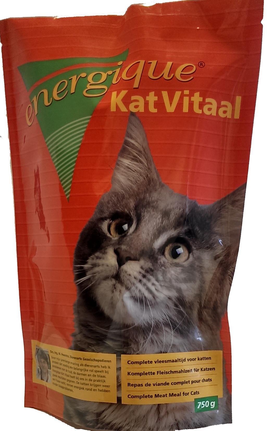 Energique kattenvoer Vitaal - 750 gr