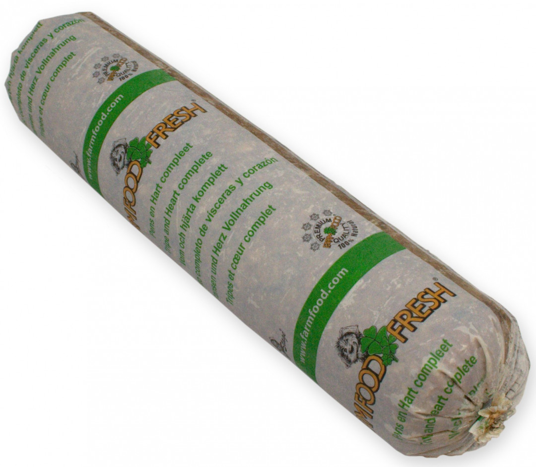 Farm Food Fresh hondenvoer pens & hart compleet 1,25 kg
