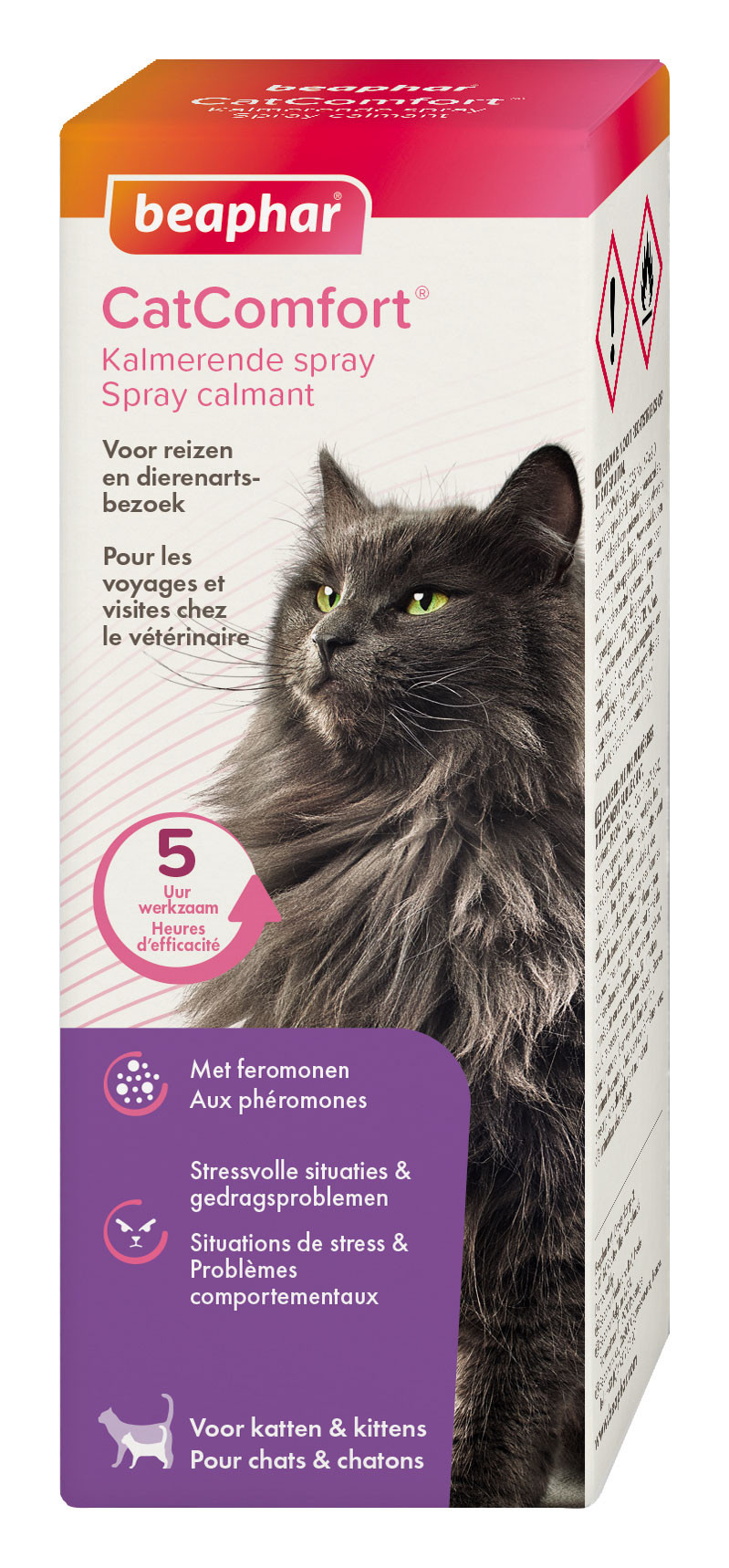 Beaphar CatComfort kalmerende spray 60 ml