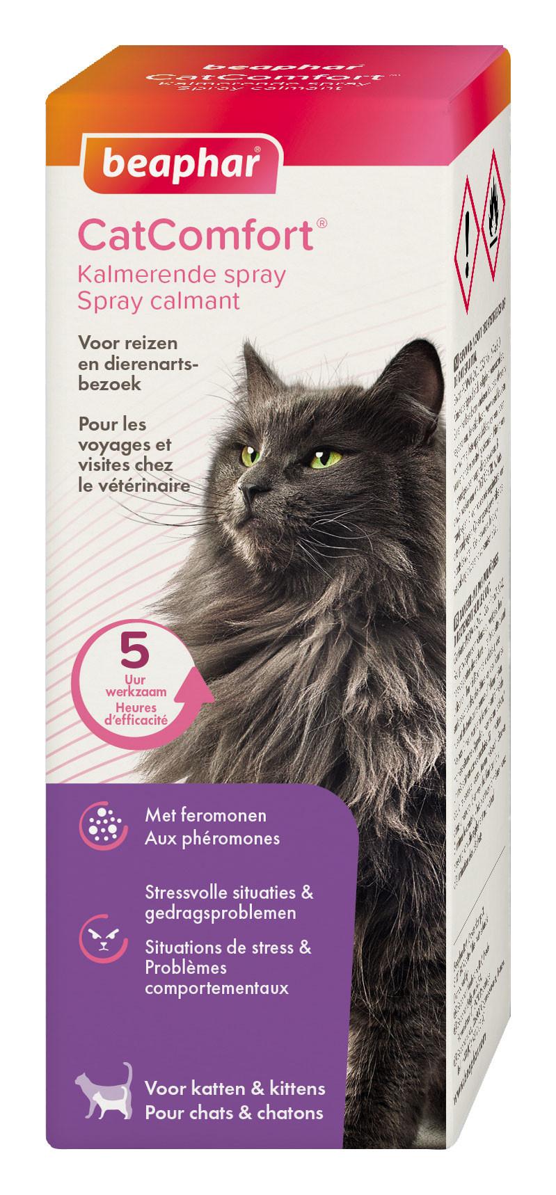 Beaphar CatComfort kalmerende spray 60 ml
