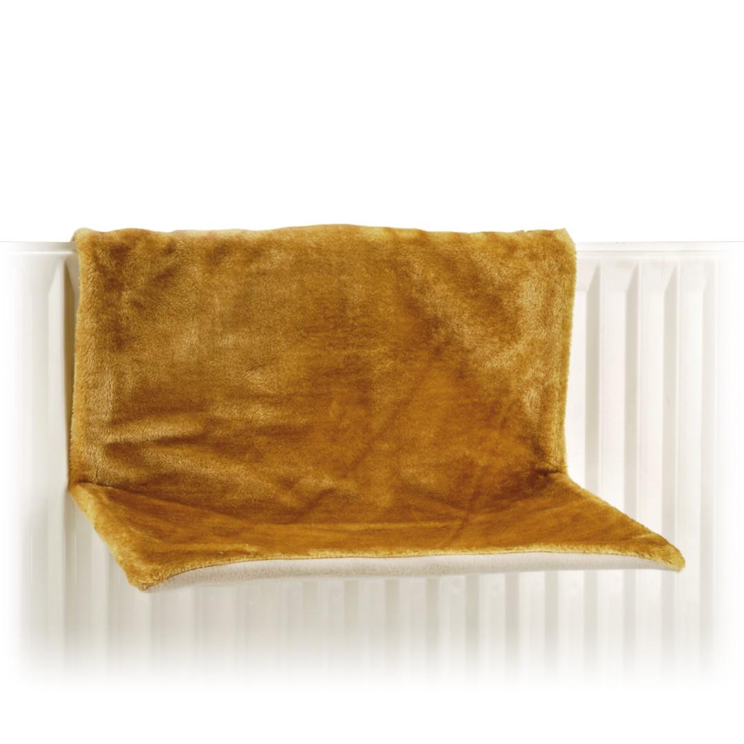 Beeztees radiatorhangmat Sleepy okergeel