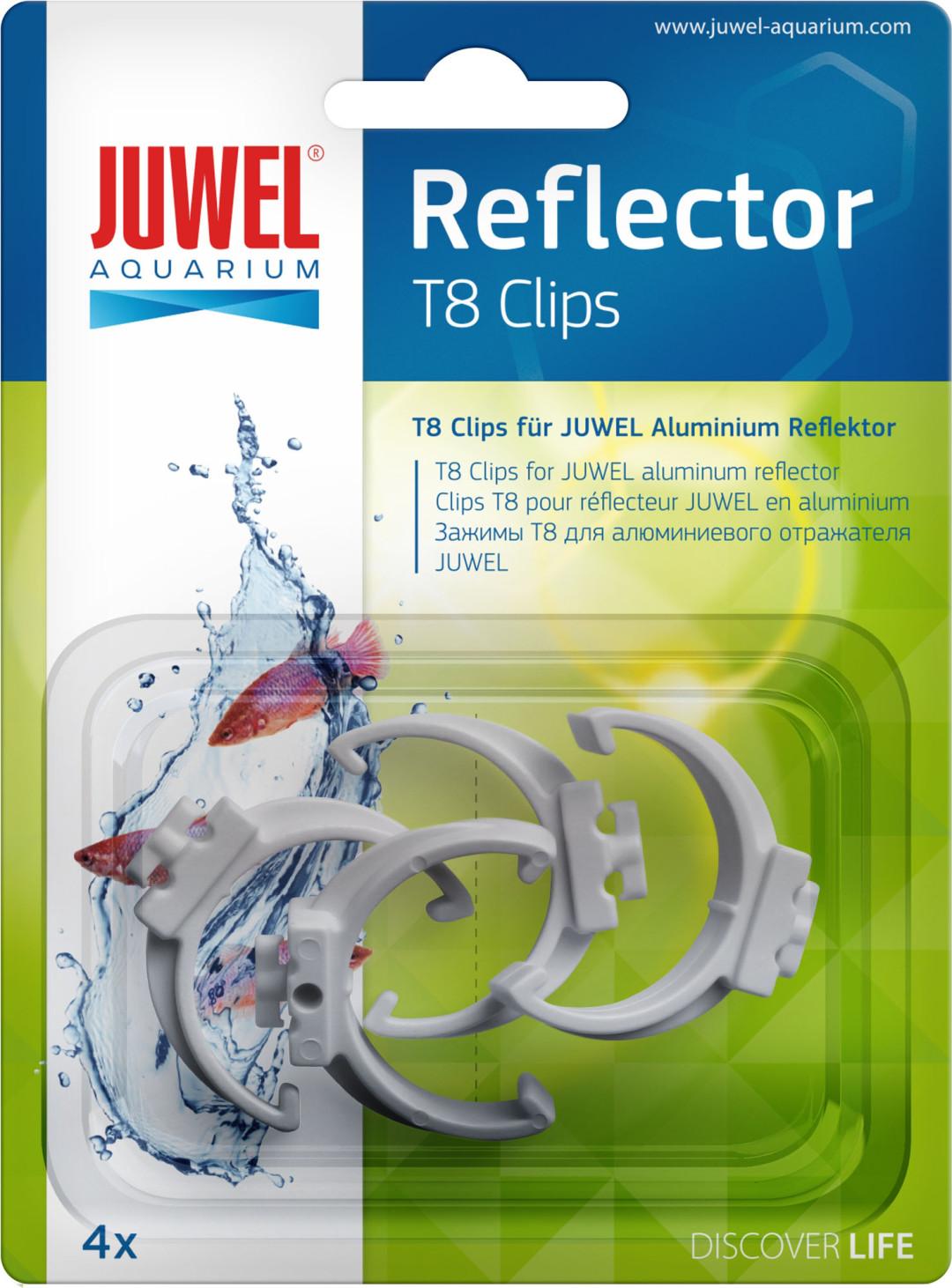 Juwel klem reflector T8