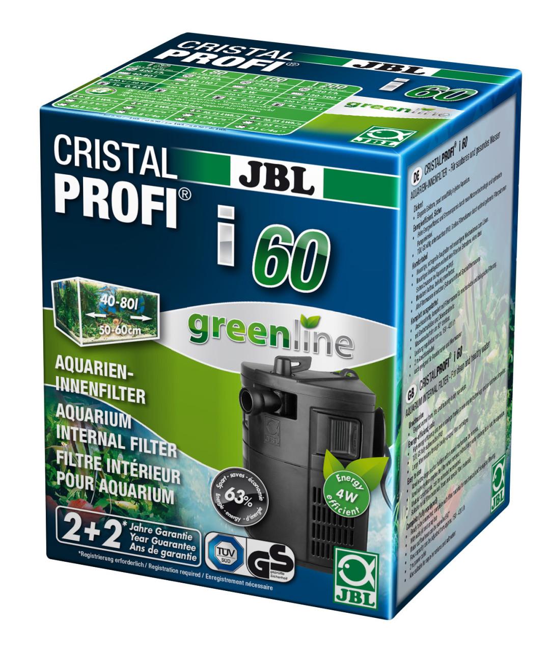 JBL binnenfilter CristalProfi i60 greenline