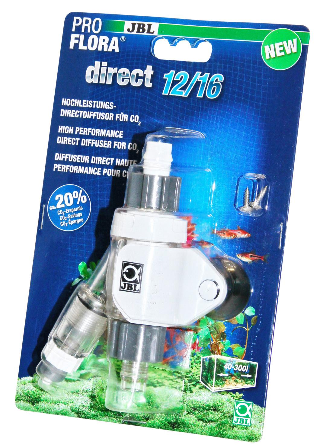 JBL CO2-diffuser ProFlora Direct 12/16