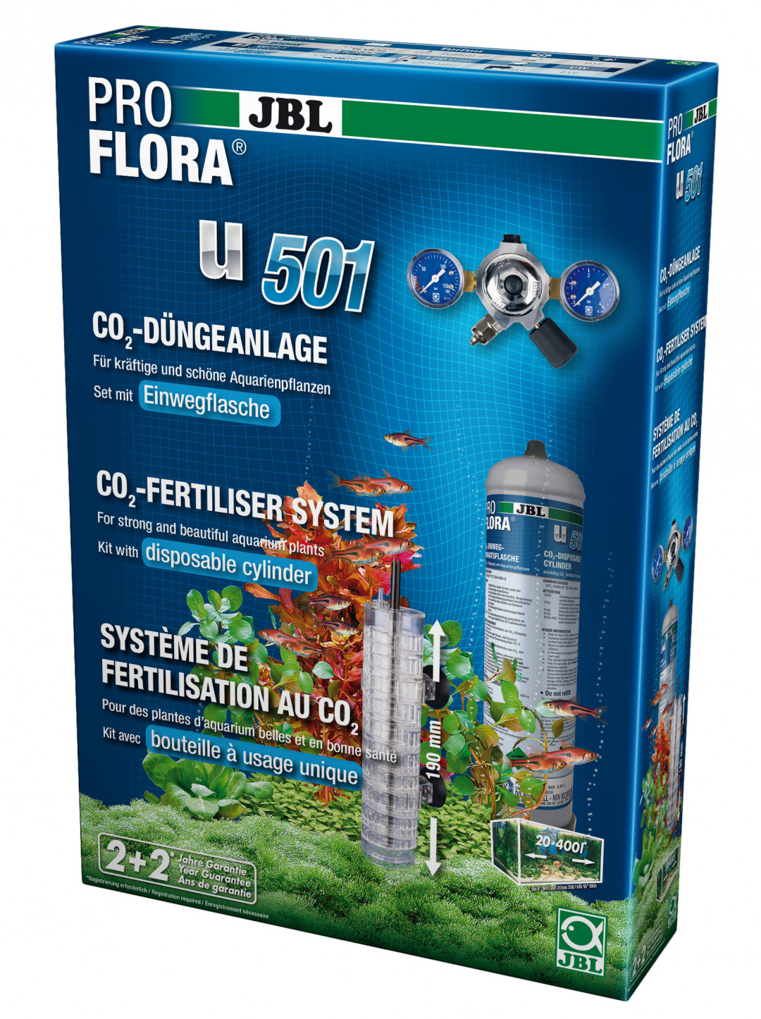 JBL CO2-set ProFlora u501 +