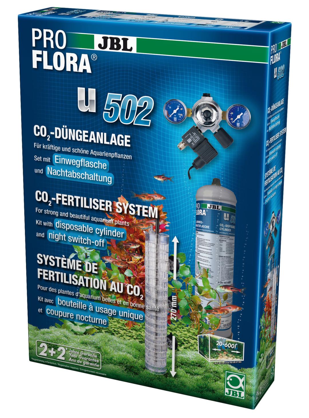 JBL CO2-set ProFlora u502 +