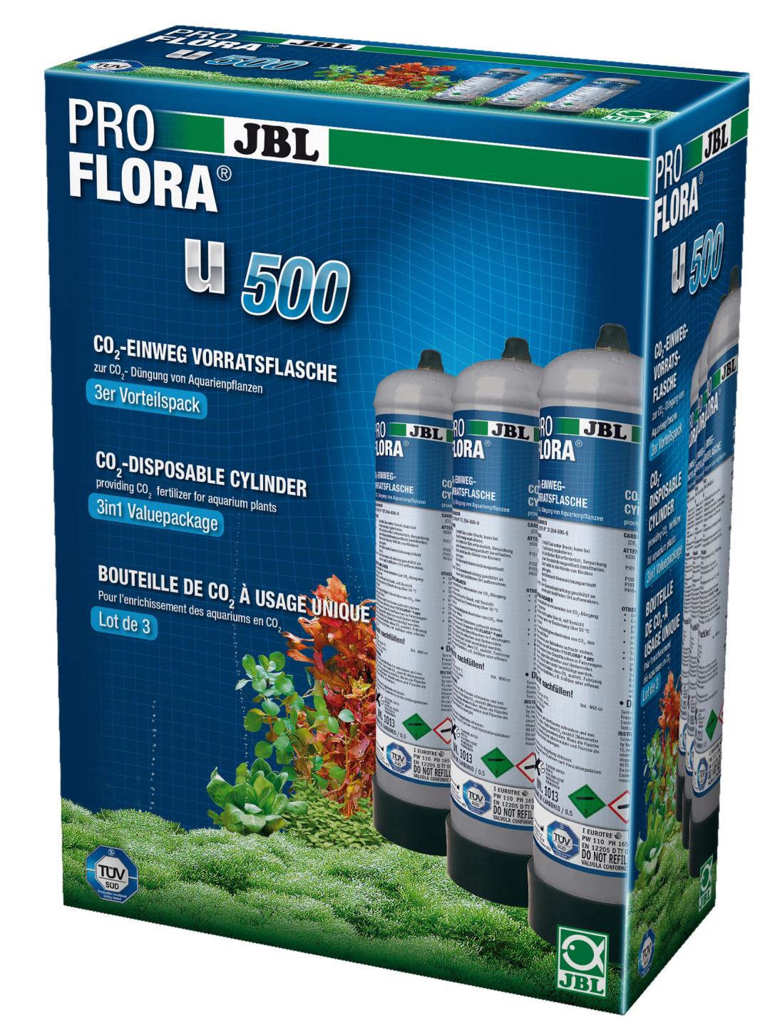 JBL CO2 navulling ProFlora u500 - 500 gr 3 st